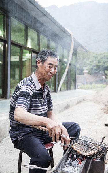 kiinan muuri kastanjanviljelijä