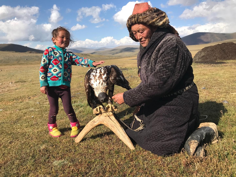 Lomalinja Tšingis-kaanin Mongolia